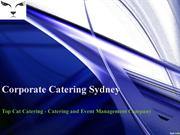 corporate catering sydney