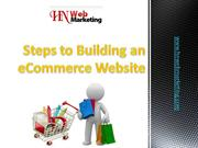 Steps to Building an eCommerce Website
