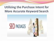 Utilizing the Purchase Intent for More Accurate Keyword Search