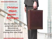 Christian Object Lesson - Briefcases