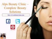 Alps Beauty Clinic -Complete Beauty Solutions
