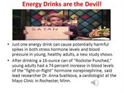 Energy Drink Facts