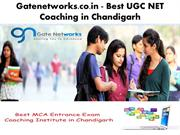 Gatenetworks.co.in - Best UGC Net Coaching in chandigarh