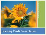 Learning Cards Pres