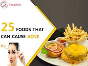 Acne problems? Avoid these Foods that can cause Acne