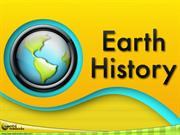 Earth History - Teacher