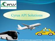 Travel API Solutions By Cyrus Recharge Solutions