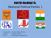 national Political Parties