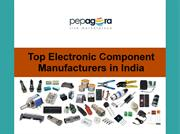 Electronic Components Manufacturers in India
