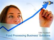 Food Processing Business' Solutions