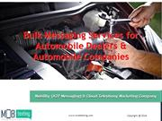 Bulk Messaging Services  for Automobile Dealers & Automobile Companies