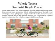 Valerie Topete - Successful Bicycle Courier