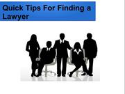 How to look for a good lawyer