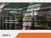 Frozen Food Industry Trends and Market Research - 2020