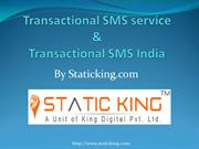 Transactional sms service & Transactional SMS India