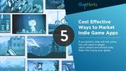 5 Cost Effective Ways to Market Indie Game Apps