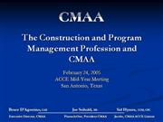 Program & Construction Management