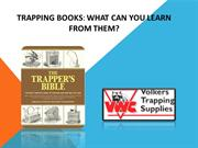 Trapping books: What can you learn from them?