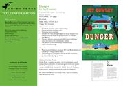 Dunger - Joy Cowley - Gecko Press