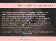 Main Causes for Toothache #2