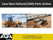 Aftermarket Case New Holland (CNH) Machinery Parts Online - AGA Parts