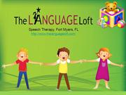 Speech Therapy Fort Myers FL