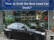 How to grab the best used car deals?