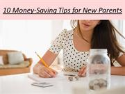 10 Money-Saving Tips for New Parents