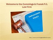 Employment law firm los angeles