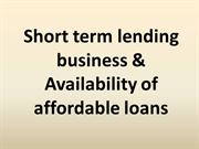 Small Payday Loans