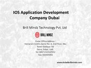 IOS Application Development In Dubai