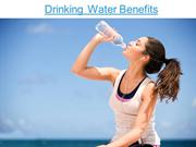 Drinking Water Benefits, Pure Water