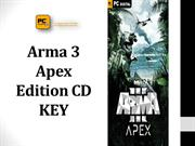 Arma 3 Apex Edition CD KEY