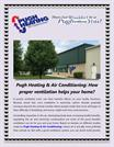 ugh Heating & Air Conditioning - How proper ventilation helps your hom