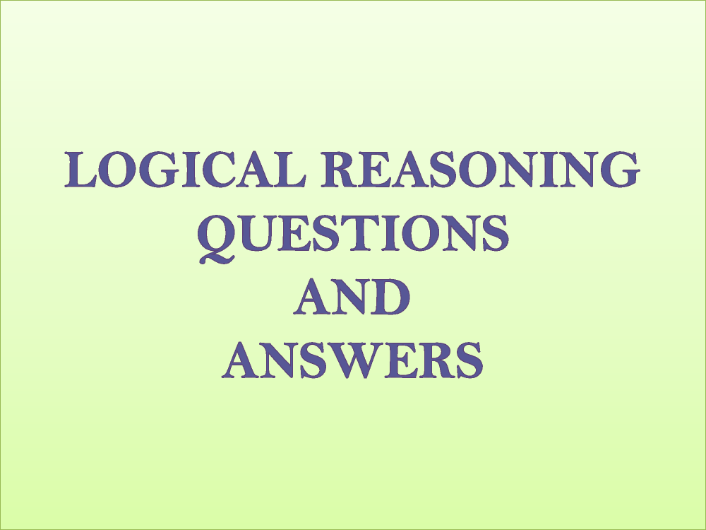 Logical Reasoning Questions And Answers |authorSTREAMQuestionnaire Logic