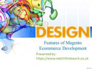 Features of Magento Ecommerce Development