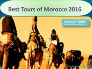 Best Tours of Morocco 2016