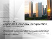 Understand the Singapore Company Incorporation Procedure in Five Simpl