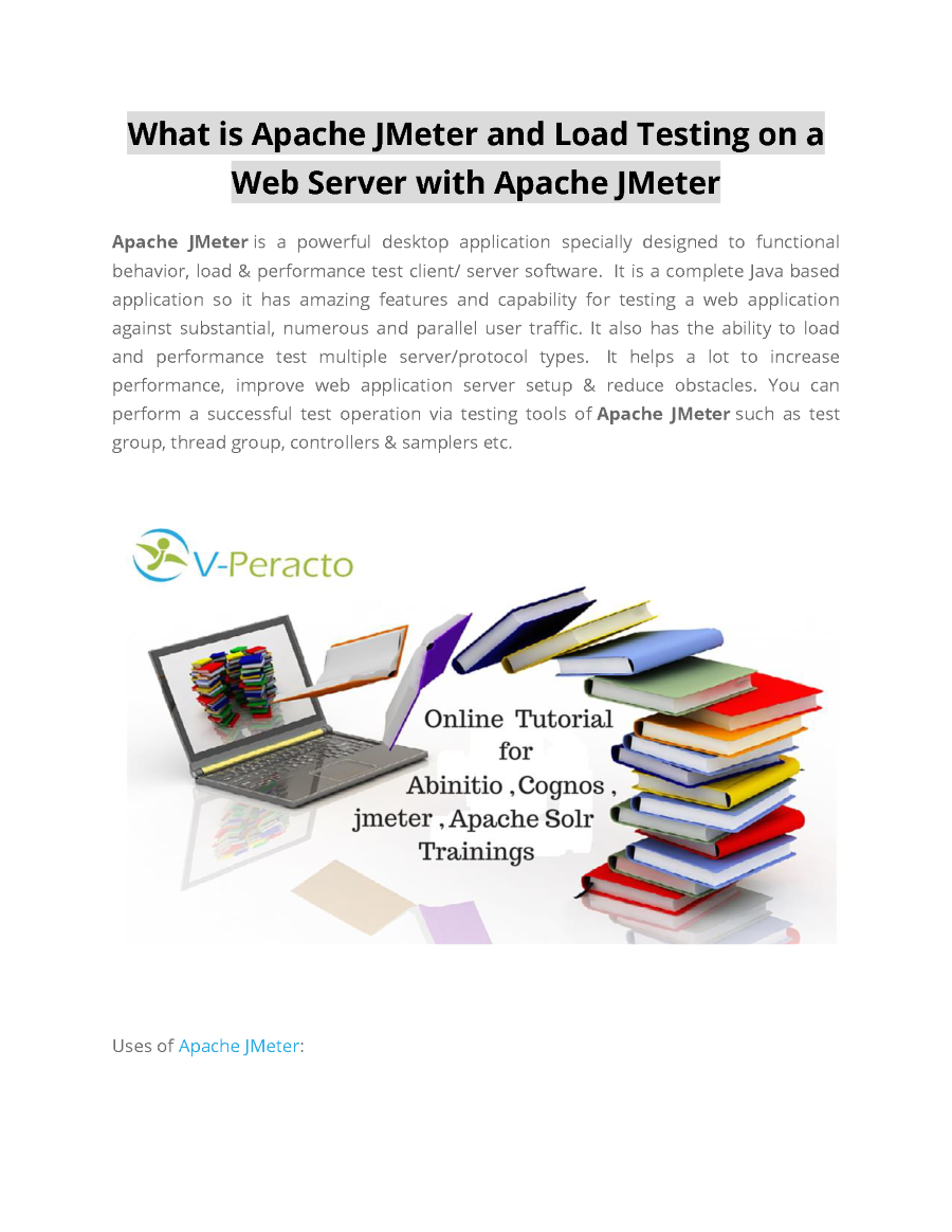 What is apache jmeter and load testing on a web server with apache related presentations baditri Image collections