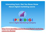 Interesting Facts I Bet You Never Knew About Digital marketing course