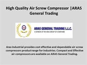 Find Cost Effective air screw compressors suppliers