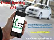 Best Travel Booking API- Cyrus API Solutions