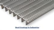 Steel Gratings in Industries
