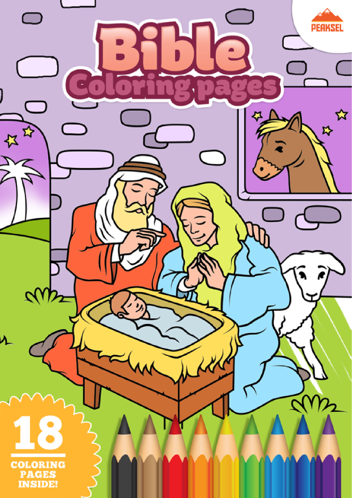 Bible Coloring Pages – Free Printable Coloring Book For Kids |authorSTREAM