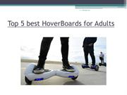 Top 5 best HoverBoards for Adults
