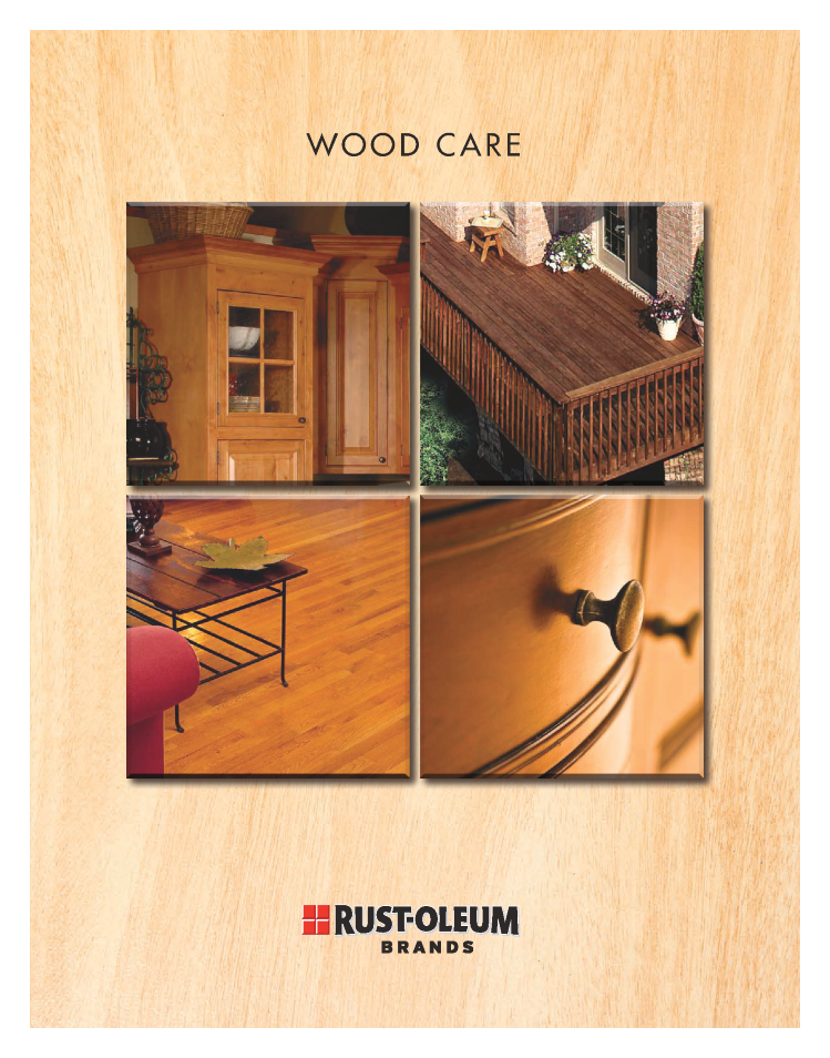Wood Care Products   Truworth Homes