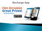 How can you earn free recharge for your smartphone