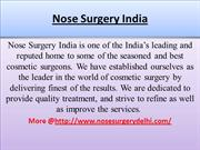 Nose Surgery ppt