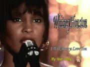 WHITNEY  HOUSTON        (  MYLOVE  SONG)