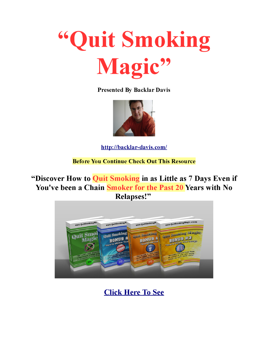how to give up smoking cigarettes